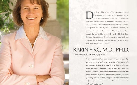 D r. Karin Pirc is one of the