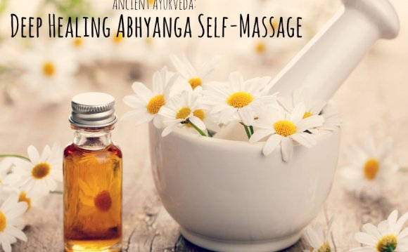 The Abhyanga Self-Massage for