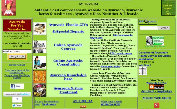 Learning Ayurveda Online