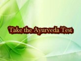 Ayurveda type Quiz
