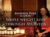Weight loss through Ayurveda