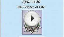 Introduction to Ayurveda (from .radha.name)