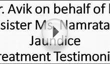 Jaundice Treatment Testimonial