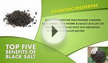 Top 5 Benefits Of Black Salt | Best Health and Beauty Tips