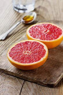 weight loss tips grapefruit halves image